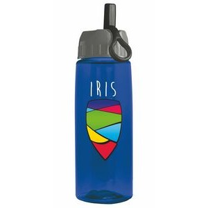 26 oz Digital Tritan Bottle - Ring Straw Lid - digital imprint