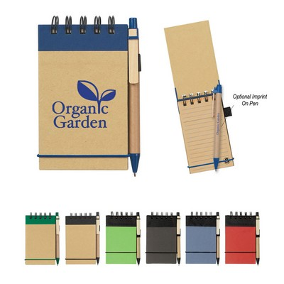 Eco-Inspired Spiral Jotter & Pen